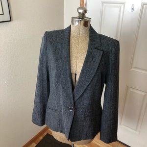 NWT AGB Gray Blazer Workwear
